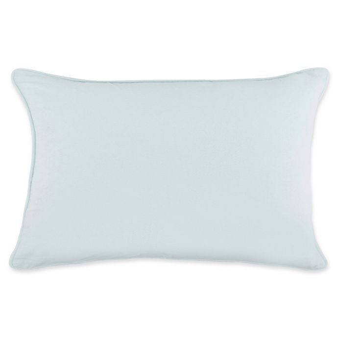 Alternate image 1 for Heritage Solid Standard Pillow Sham in Spa Blue