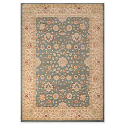 Momeni Ziegler Floral 7'10 x 9'10 Area Rug in Blue