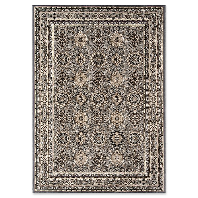Alternate image 1 for Momeni Royal 2 x 3'3 Accent Rug in Grey