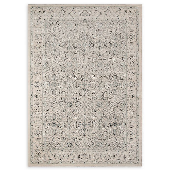 Alternate image 1 for Momeni Ziegler Floral 5'3 x 7'6 Area Rug in Ivory