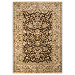 Momeni Ziegler Regal Floral 7'10 x 9'10 Area Rug in Brown