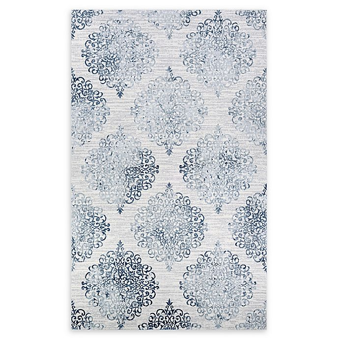 Alternate image 1 for Couristan® Montebello 2' x 3' Accent Rug in Blue/Ivory