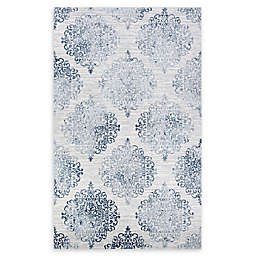 Couristan® Montebello 2' x 3' Accent Rug in Blue/Ivory