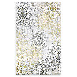 Couristan® Summer Bliss 7'10 x 10'10 Area Rug in Gold