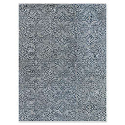 Amer Ascent Damask Rug in White