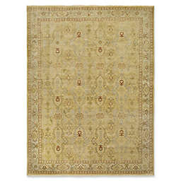 Amer Rugs Anatolia Traditional Hand-Knotted 2' x 3' Accent Rug in Gold/Yellow