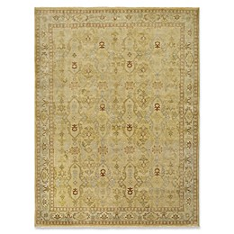 Amer Rugs Anatolia Traditional Hand-Knotted Area Rug in Gold/Yellow