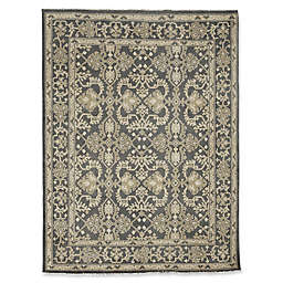 Rugs America Traditional Hand-Knotted Rug in Charcoal
