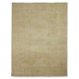 Rugs America Traditional Hand-Knotted Rug in Green