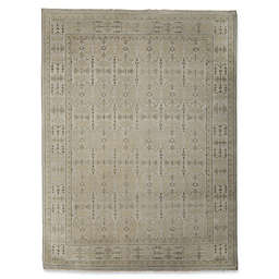 Rugs America Traditional Hand-Knotted Rug in Silver