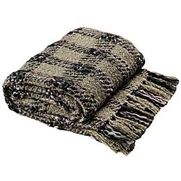Safavieh Penny Knit Throw Blanket in Rosewood