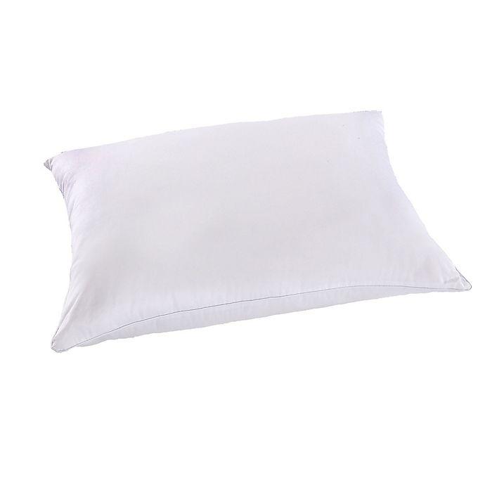Alternate image 1 for Wamsutta® Dream Zone® Feather Core 500 Thread Count Cotton Pillow in White