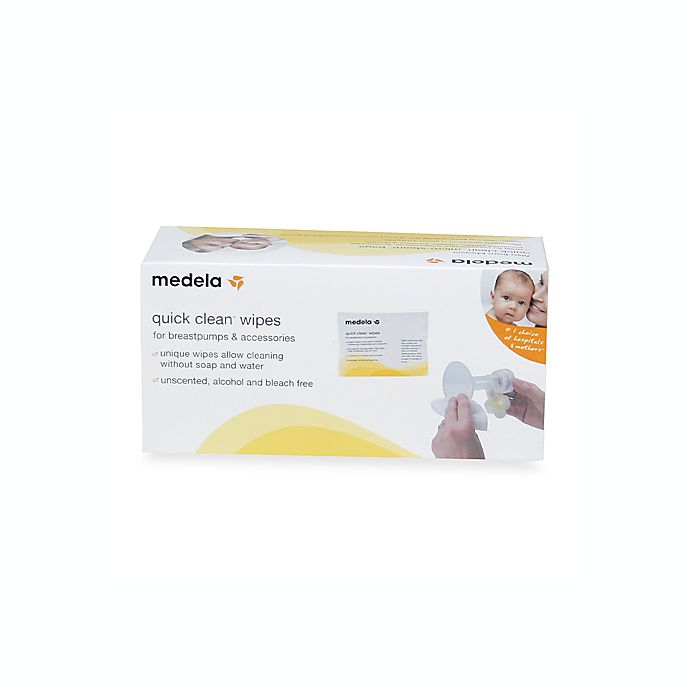 Alternate image 1 for Medela® Quick Clean 40-Count Breastpump and Accessory Wipes