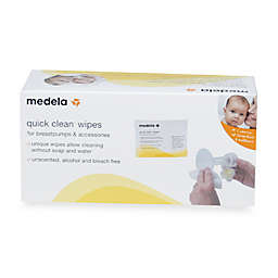 Medela® Quick Clean 40-Count Breastpump and Accessory Wipes