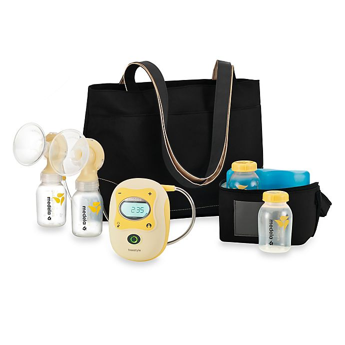 Alternate image 1 for Medela® Freestyle® Mobile Double Electric Breast Pump with Shoulder Bag