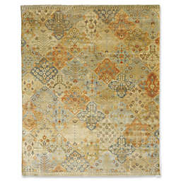 Rugs America Traditional Hand-Knotted Multicolor Rug