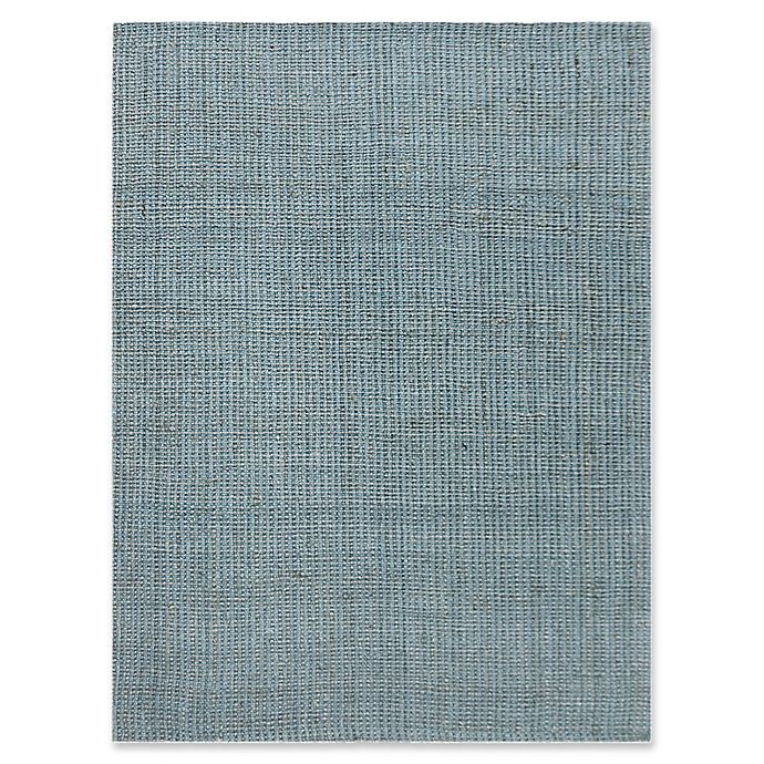 Alternate image 1 for Amer Rugs Andaman Classic Hand-Woven 8' x 10' Rug in Aqua