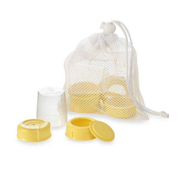 Alternate image 1 for Medela® Breastmilk Bottle Spare Parts