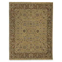 Amer Rugs Artisan Traditional Hand-Knotted Rug in Gold