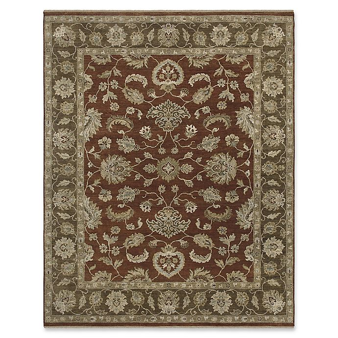 Alternate image 1 for Amer Rugs Artisan Traditional Hand-Knotted Rug in Red