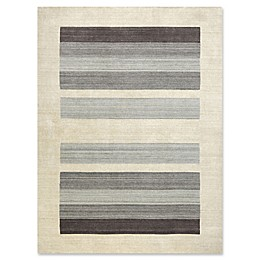 Amer Rugs Blend  Hand-Woven Rug in Ivory