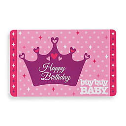 """""""Happy Birthday"""" Crown Gift Card"""