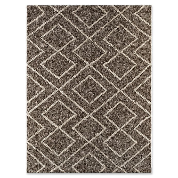 Alternate image 1 for Amer Rugs Bryant 2' x 3' Shag Accent Rug in Beige