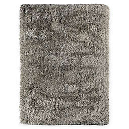 Amer Rugs Metro 2' x 3' Shag Accent Rug in Charcoal