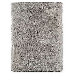Amer Metro 2' x 3' Shag Accent Rug in Grey