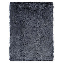 Amer Rugs Metro 7'6 x 9'6 Shag Area Rug in Blue