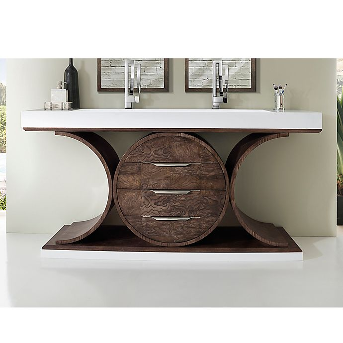 James Martin Furniture Oasis 72 Inch Double Vanity In Olive Ash