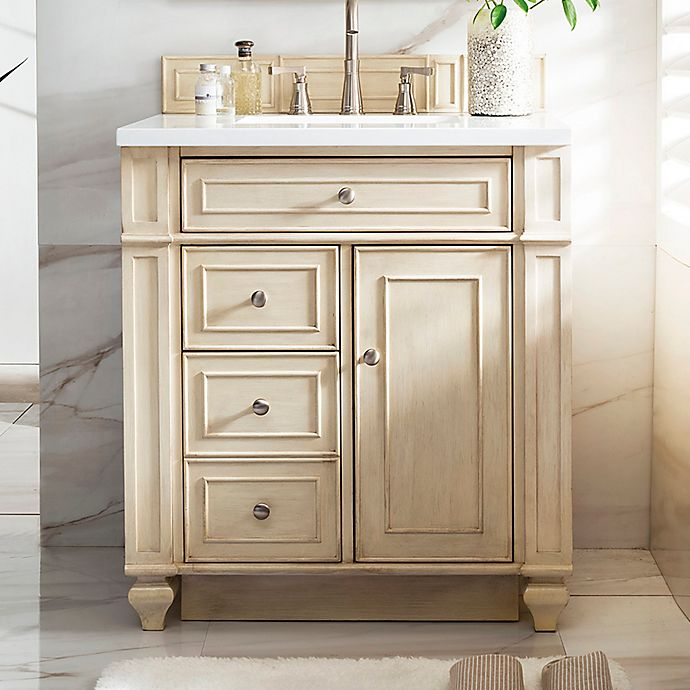 Alternate image 1 for James Martin Furniture Bristol 30-Inch Single Vanity in Vintage Vanilla