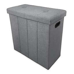 Ginsey Home + Solutions Foldable Seated Hamper