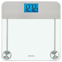 HoMedics® Stainless Steel/Glass Digital Bathroom Scale