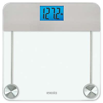 HoMedics® Stainless Steel/Glass Digital Bathroom Scale