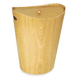 Elegant Ash Wood Hamper