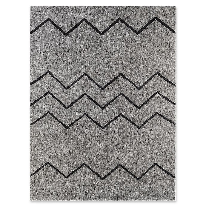 Alternate image 1 for Amer Rugs Bryant 2' x 3' Shag Accent Rug in Oyster