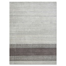 Amer Rugs Blend Stripe Rug in Light Grey