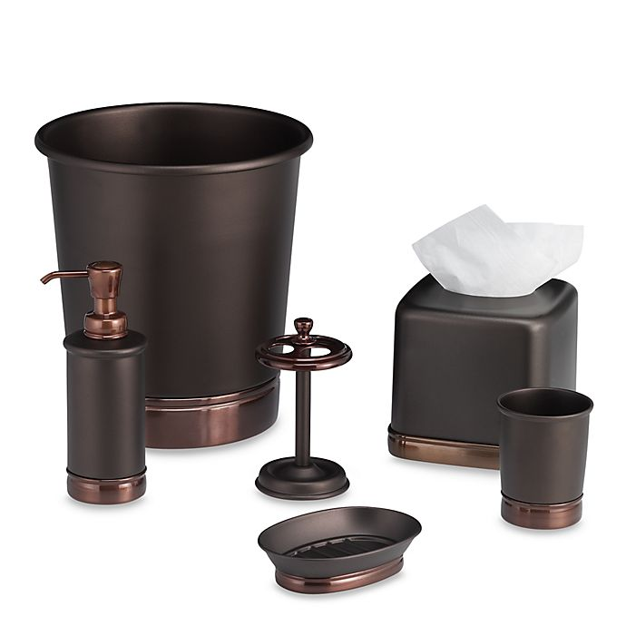 York Oil Rubbed Bronze Metal Bath Accessory Collection Bed Bath Beyond