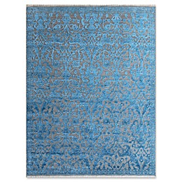 Amer Joy Transitional Rug in Teal