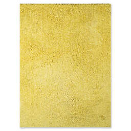 Amer Rugs Illustrations Shag 7'6 x 9'6 Area Rug in Yellow