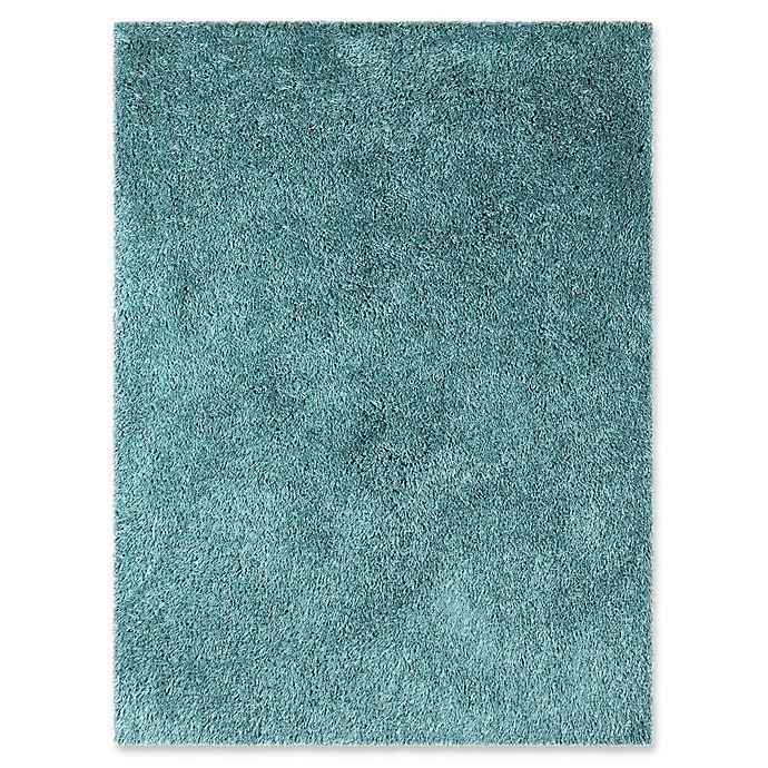 Alternate image 1 for Amer Rugs Illustrations Shag 7'6 x 9'6 Area Rug in Calypso Blue