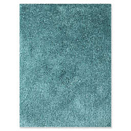 Amer Rugs Illustrations Shag 7'6 x 9'6 Area Rug in Calypso Blue