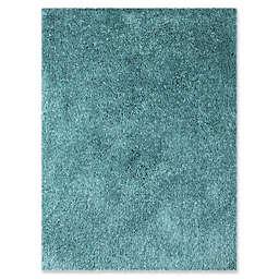 Amer Rugs Illustrations Shag 7'6 x 9'6 Area Rug in Calypso Blue