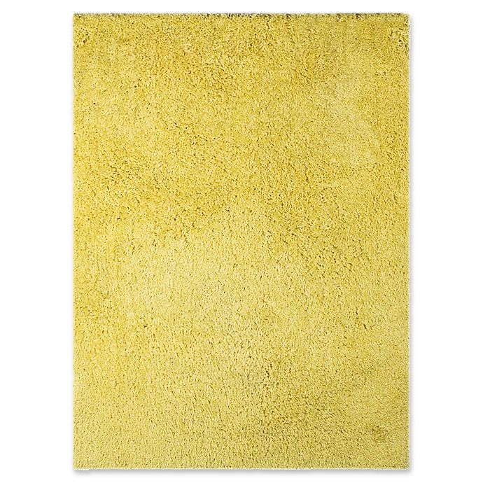 Alternate image 1 for Amer Rugs Illustrations Shag 8' x 11' Area Rug in Yellow