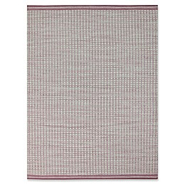 Amer Loft Modern Flat-Weave Rug in Pink
