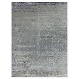 Amer Synergy Transitional 6' x 9' Area Rug in Grey