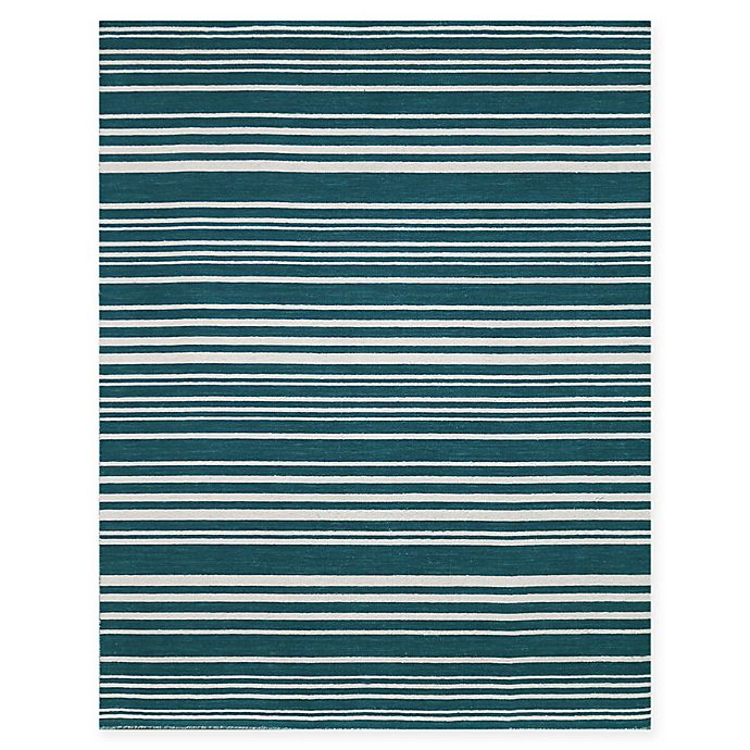 Alternate image 1 for Amer Rugs Elana Striped 5' x 8' Area Rug in Teal