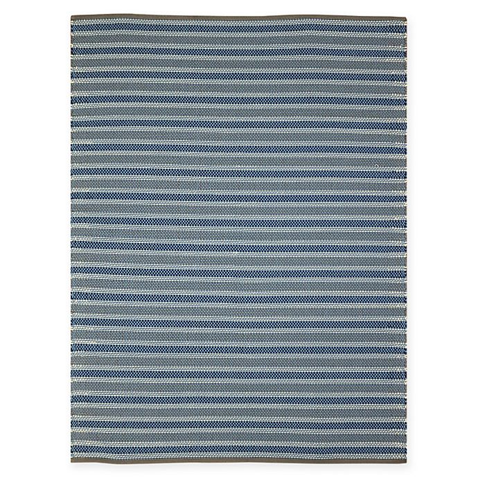 Alternate image 1 for Amer Rugs Paramount Striped 5' x 7'6' Rug in Blue