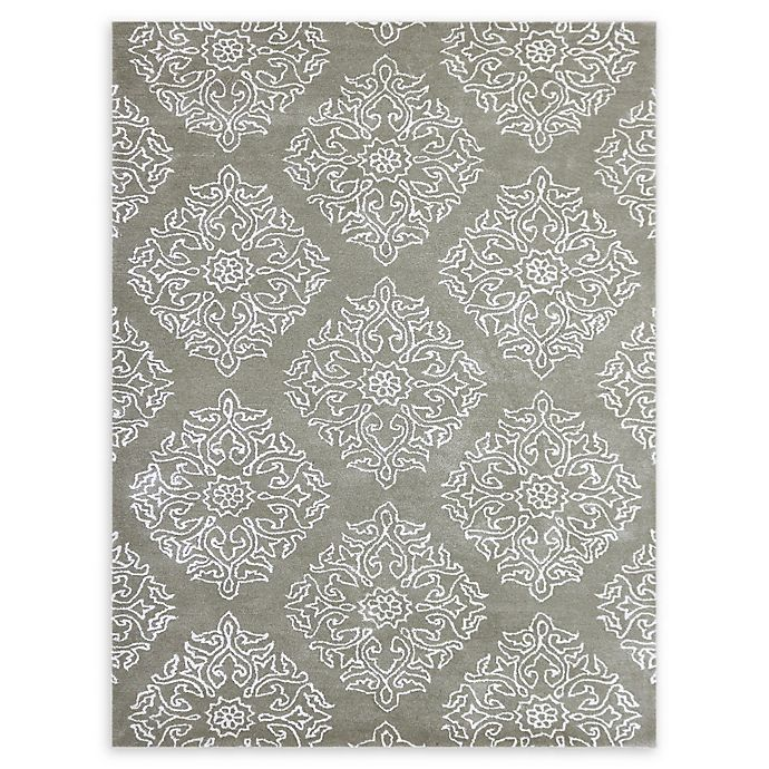 Alternate image 1 for Amer Serendipity Medallion 5' x 8' Area Rug in Grey